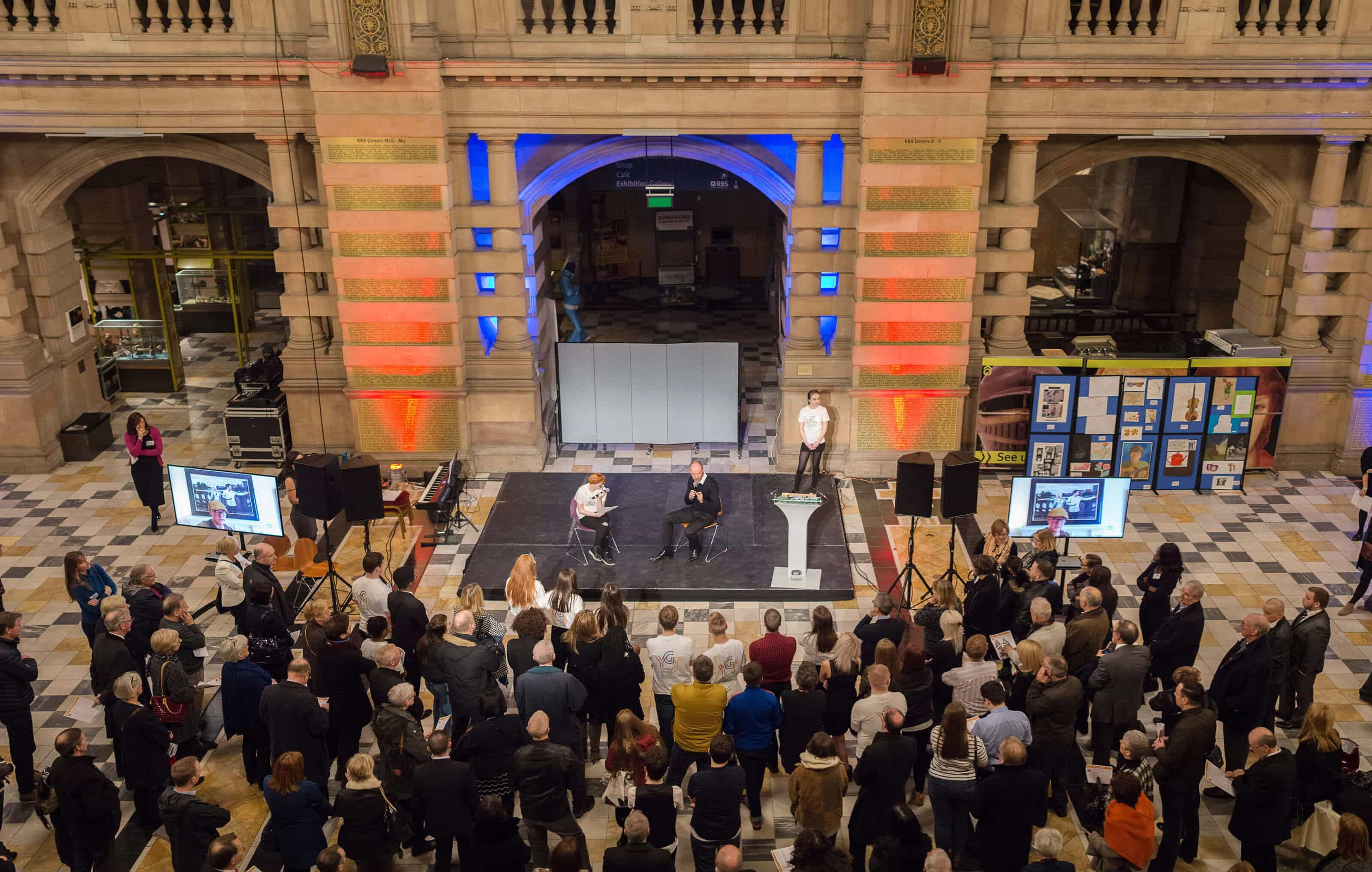Young Glasgow Talent Bridge to the Future Event Kelvingrove