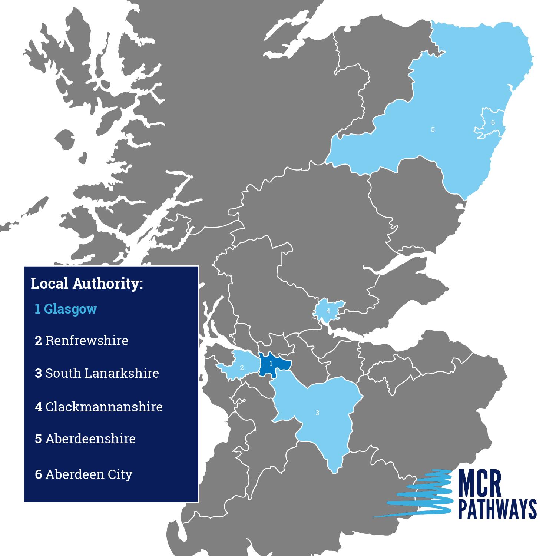 MCR Map Scotland