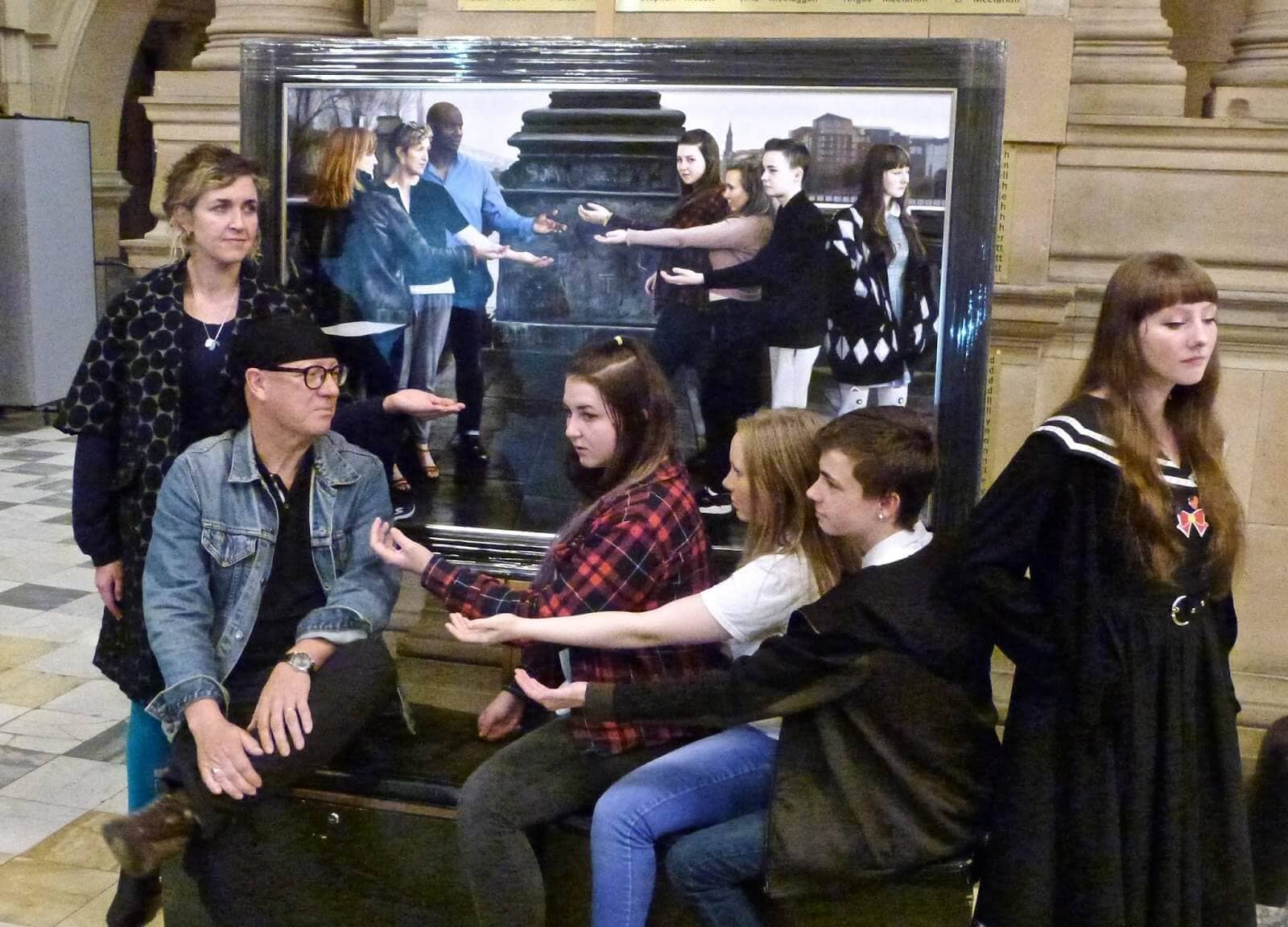 Young Glasgow Talent Shines at Kelvingrove Unveiling