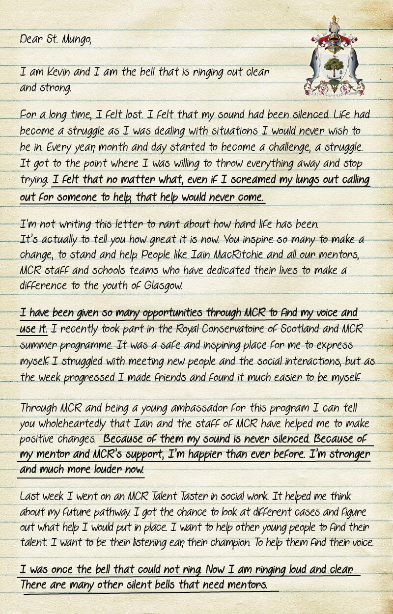 Kevin Letter