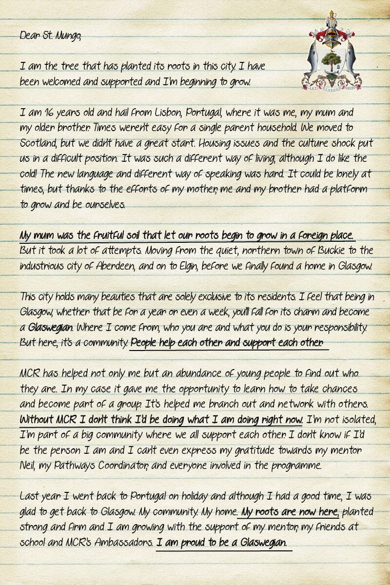 Frances Letter