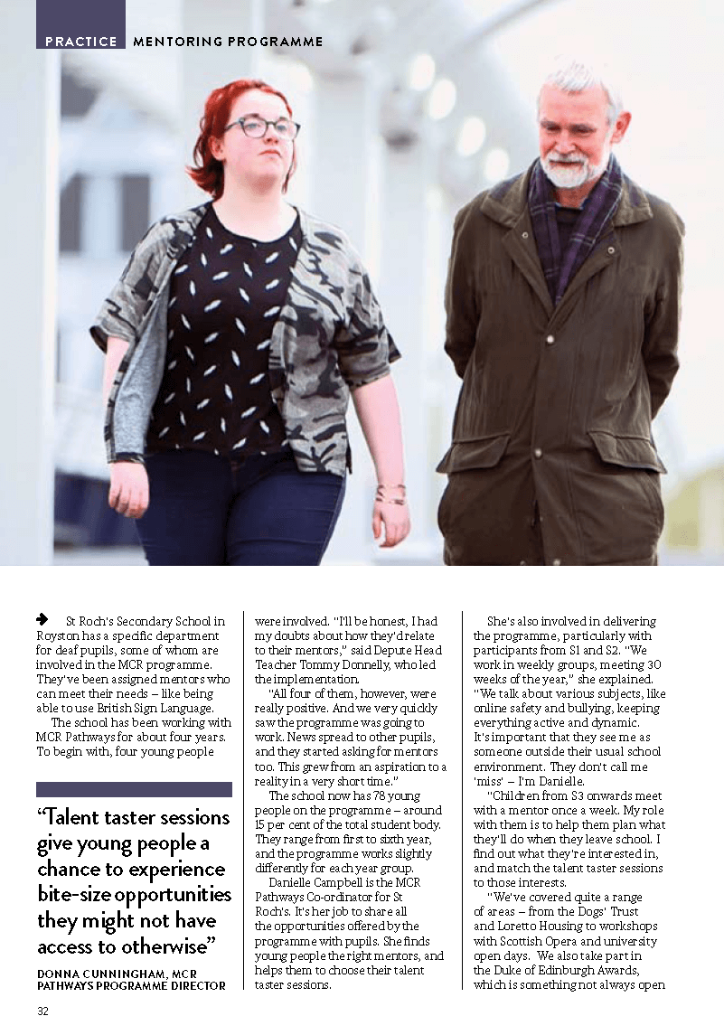 Teaching Scotland Article Page 2