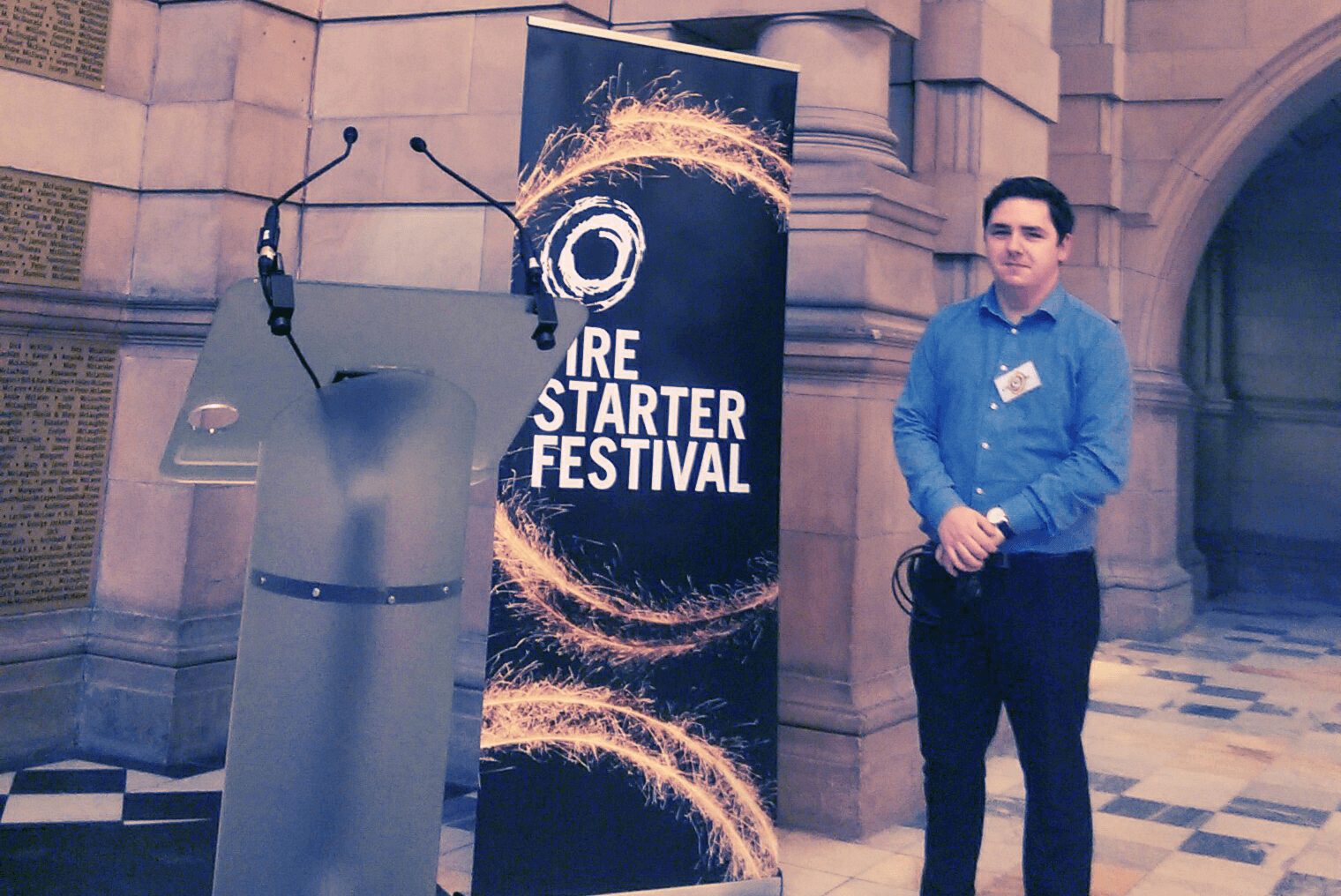 MCR's Liam Shines at Fire Starter Festival – Launched by First Minister