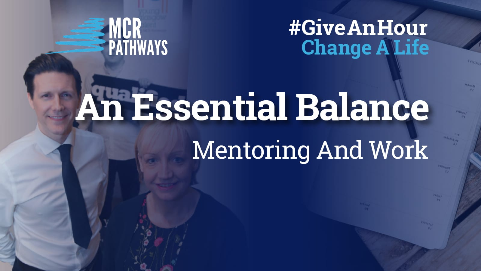 Essential balance of mentoring and work