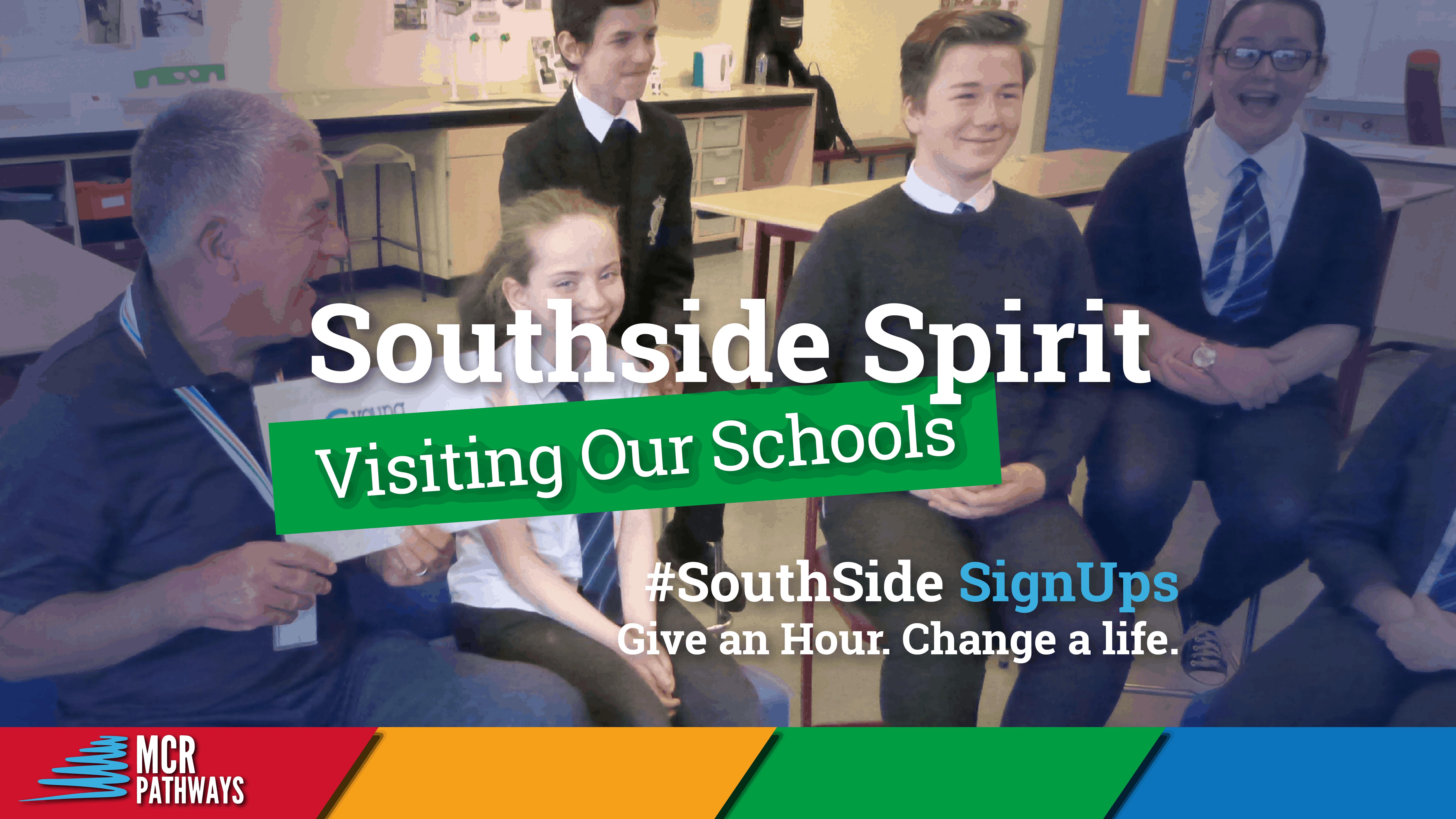 Southside Spirit Visiting our schools - blog header