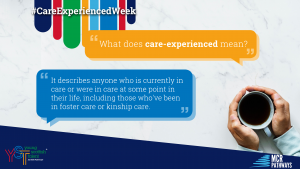 Care-experienced week - Blog Header