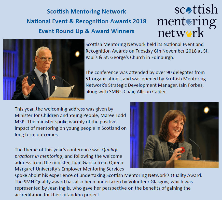 Scottish mentoring network