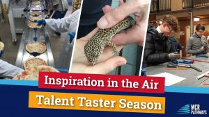 Talent Taster blog header