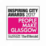 People Make Glasgow Inspiring City Award 2017 logo