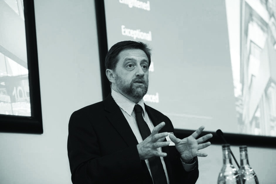 Headshot of National Advisory Group's David Hillier