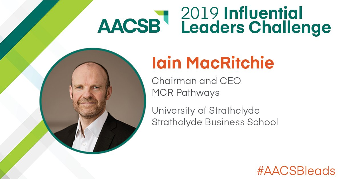 dr iain macritchie aacsb influential leader