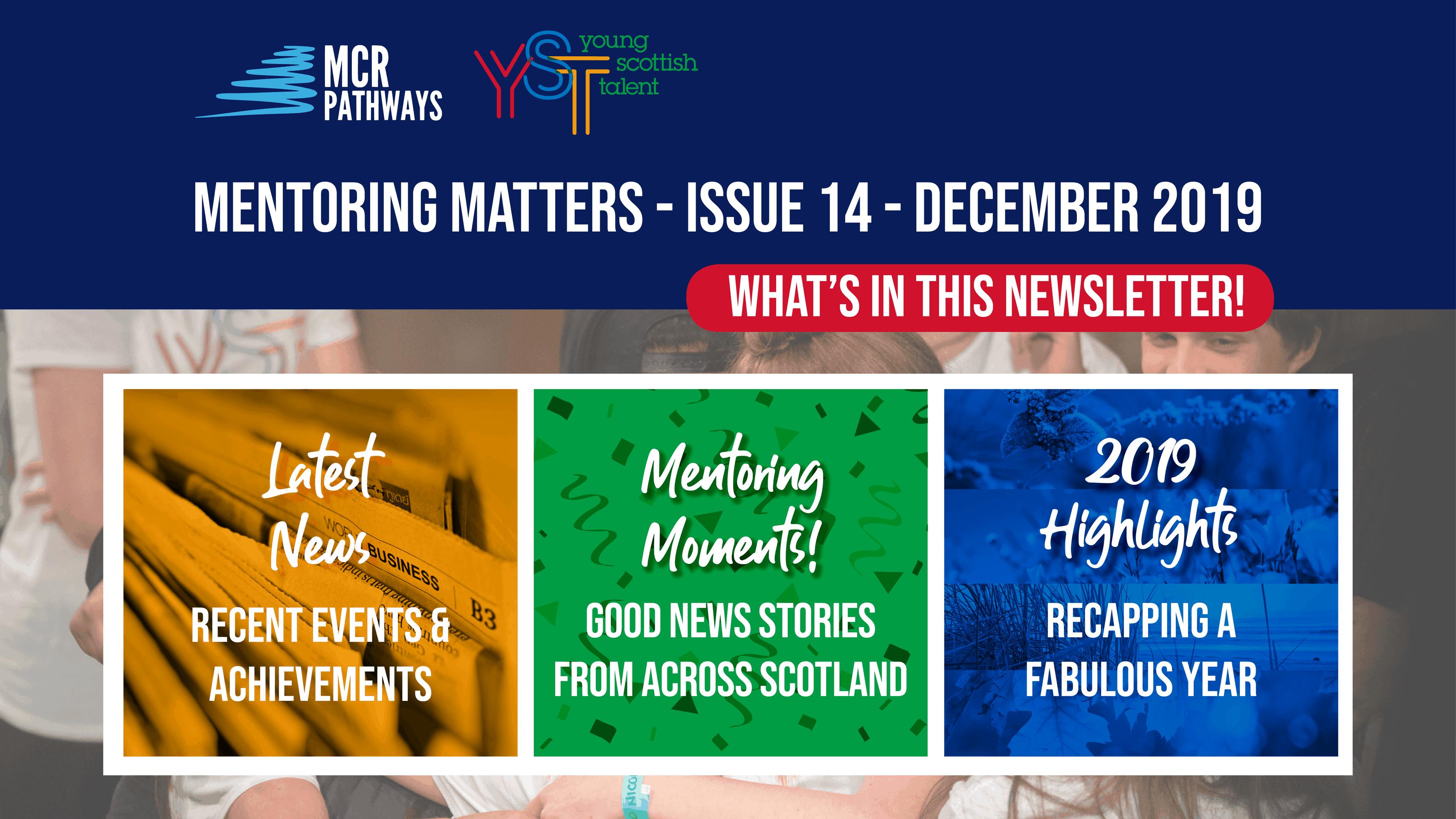 Mentoring Matters Newsletter - Issue 14 December 2019