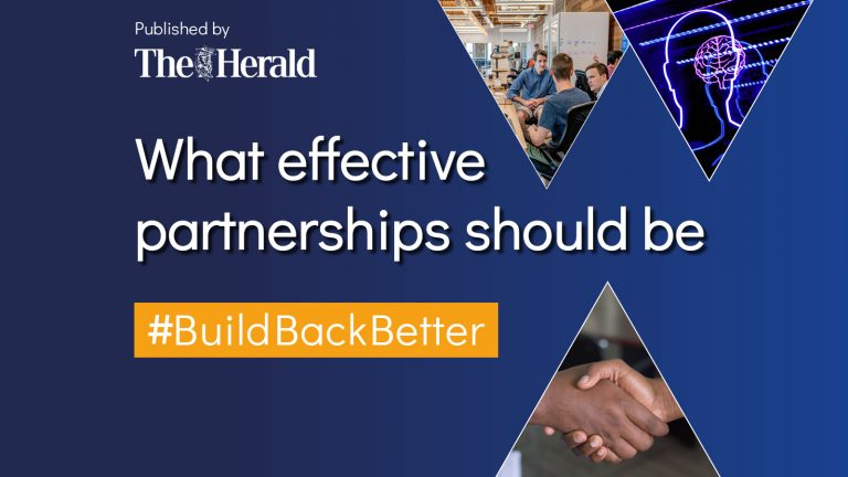 What effective partnerships should be in 2021