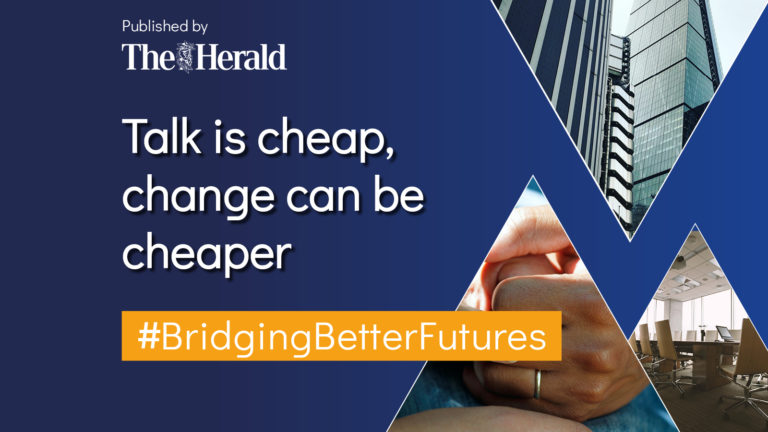 Talk is cheap, change can be cheaper